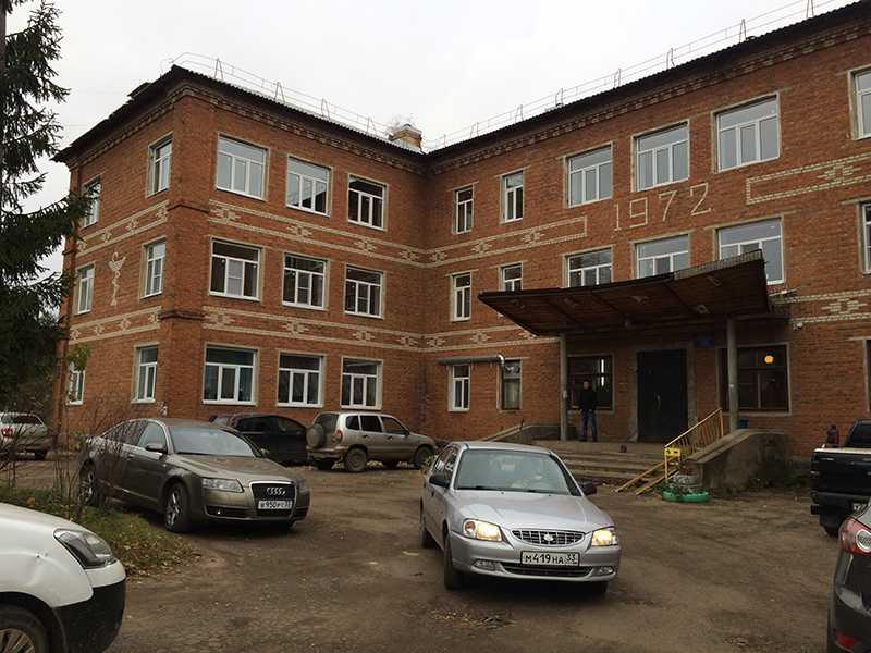 Остекление карабановской районной больницы